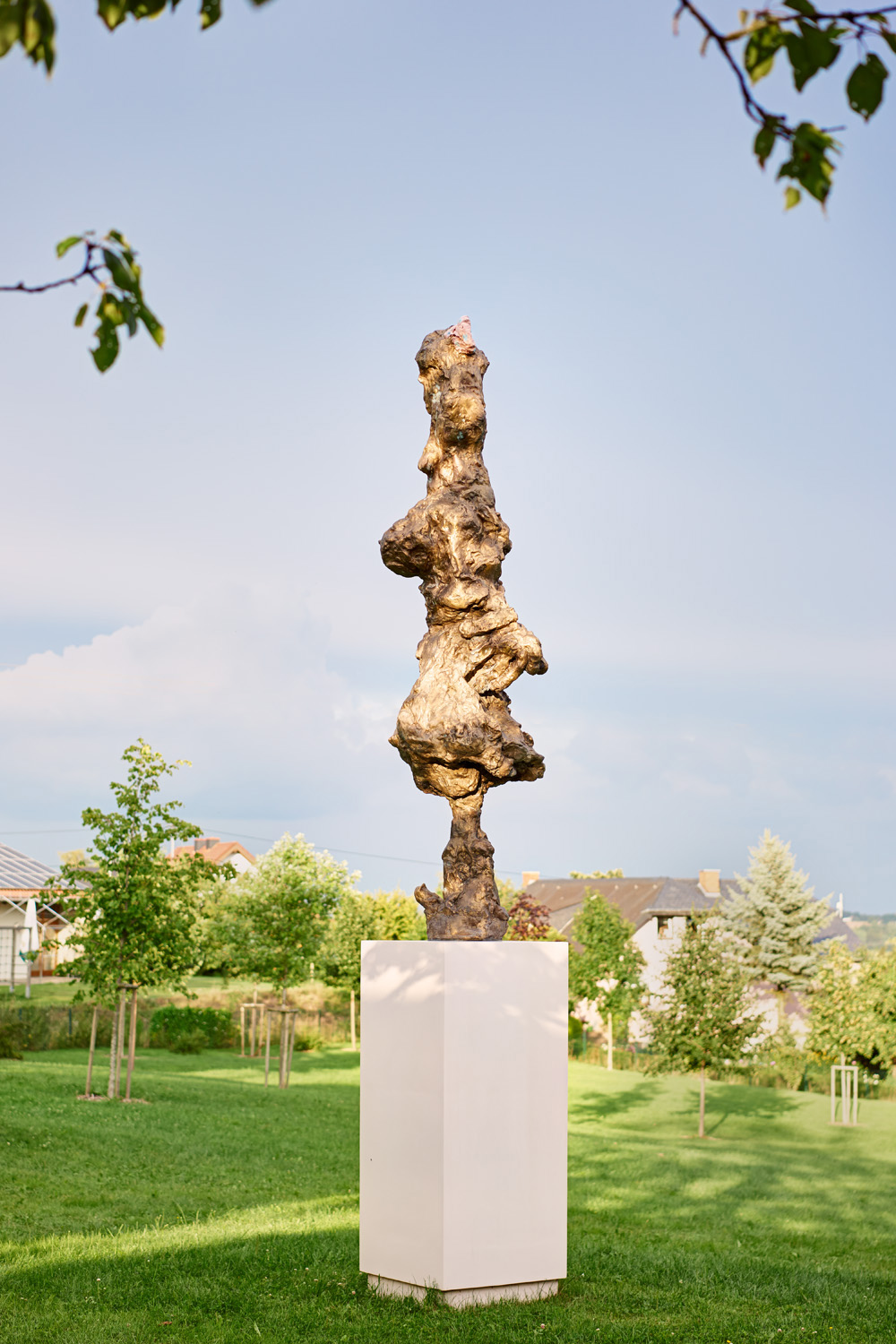 Rebecca Warren, The Main Feeling, 2009, painted bronze, 289.6 x 76.2 x 72.4 cm.; 114 x 30 x 28 1/2 in.
